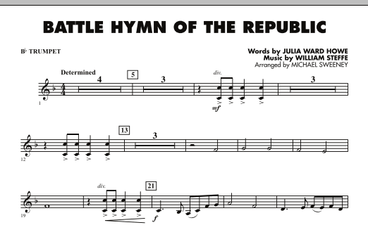 Battle Hymn of the Republic - Bb Trumpet (Concert Band)