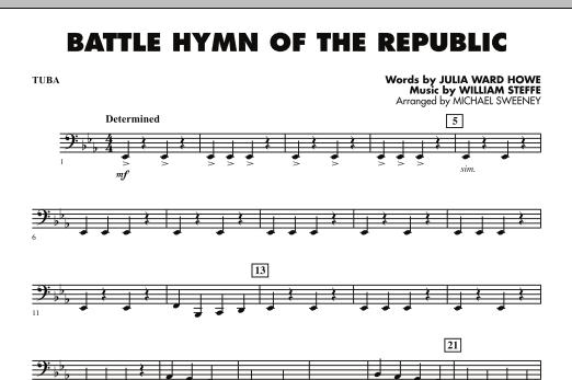 Battle Hymn of the Republic - Tuba (Concert Band)