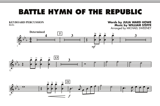 Battle Hymn of the Republic - Keyboard Percussion (Concert Band)
