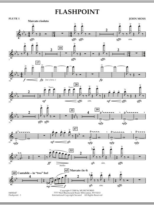 Flashpoint - Flute 1 (Concert Band)