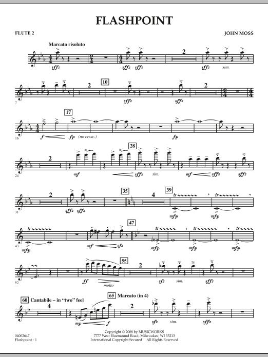 Flashpoint - Flute 2 (Concert Band)