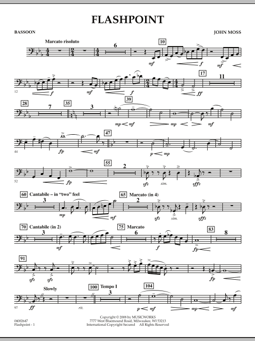 Flashpoint - Bassoon (Concert Band)