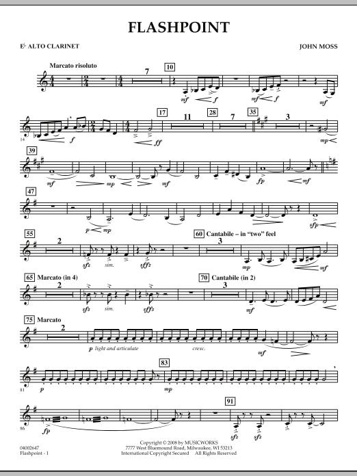 Flashpoint - Eb Alto Clarinet (Concert Band)