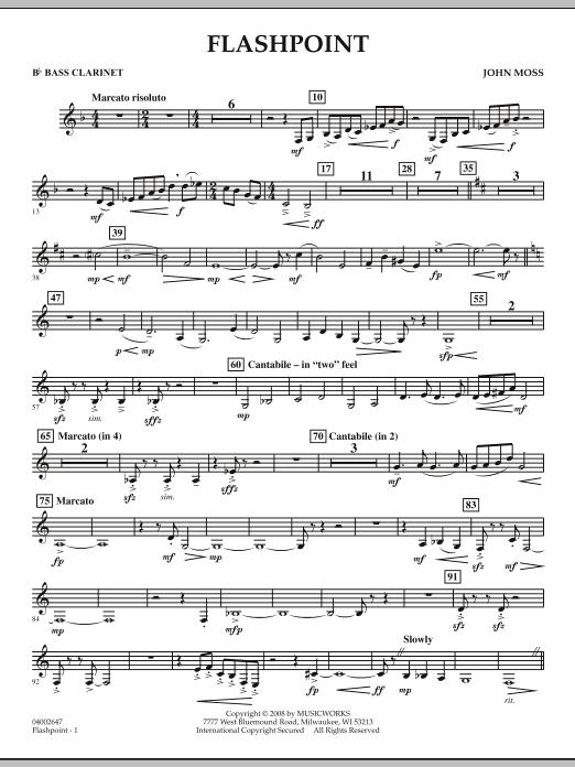 Flashpoint - Bb Bass Clarinet (Concert Band)