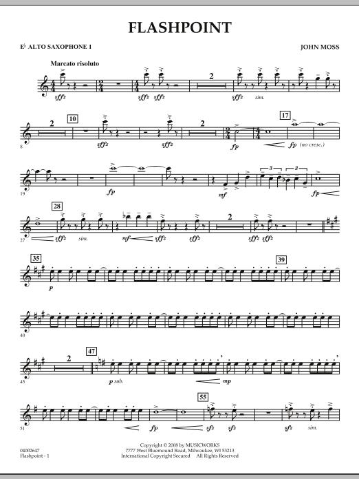 Flashpoint - Eb Alto Saxophone 1 (Concert Band)