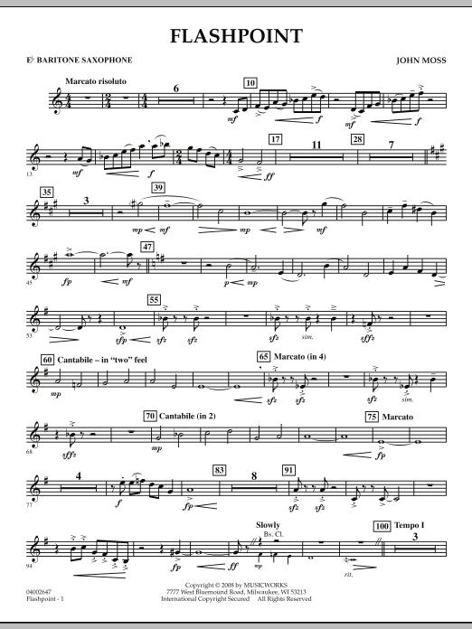 Flashpoint - Eb Baritone Saxophone (Concert Band)