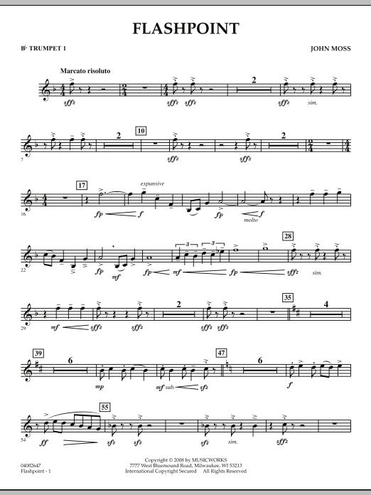 Flashpoint - Bb Trumpet 1 (Concert Band)