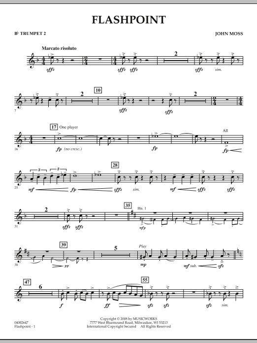 Flashpoint - Bb Trumpet 2 (Concert Band)