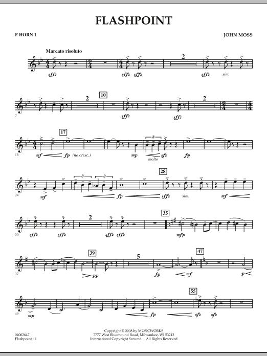 Flashpoint - F Horn 1 (Concert Band)