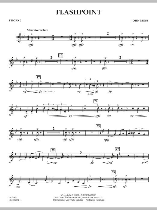 Flashpoint - F Horn 2 (Concert Band)