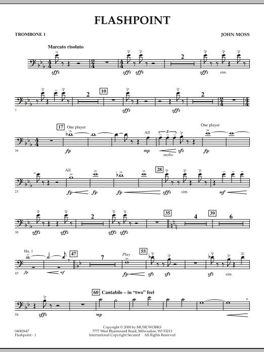 Flashpoint - Trombone 1 (Concert Band)