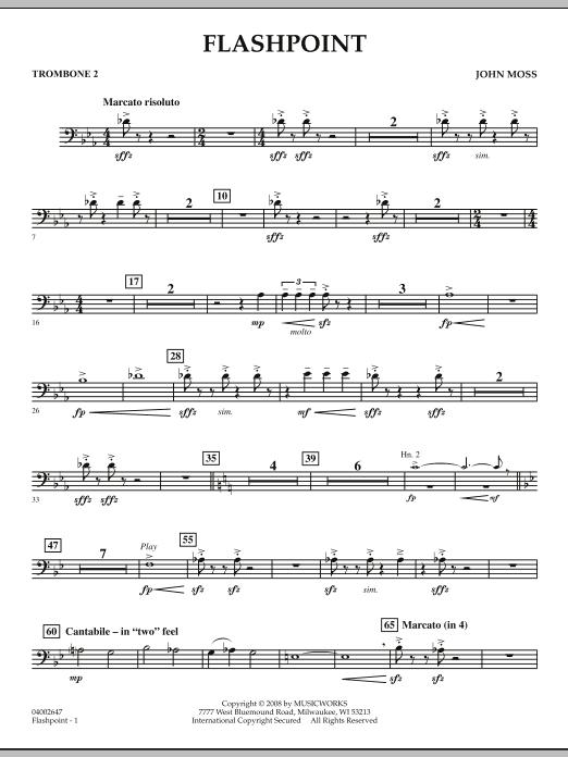 Flashpoint - Trombone 2 (Concert Band)