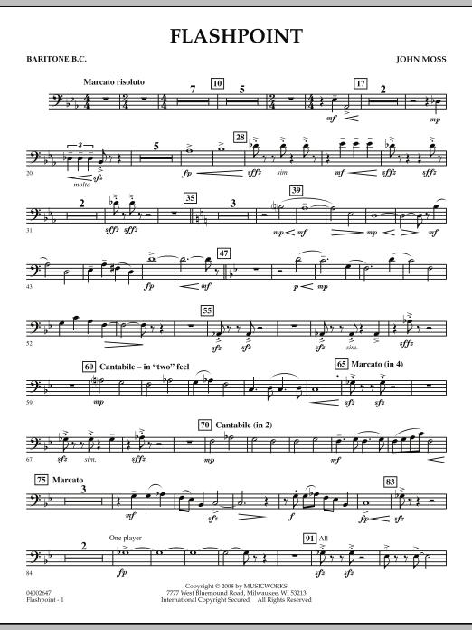 Flashpoint - Baritone B.C. (Concert Band)