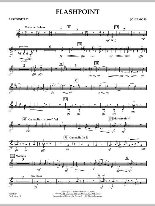 Flashpoint - Baritone T.C. (Concert Band)