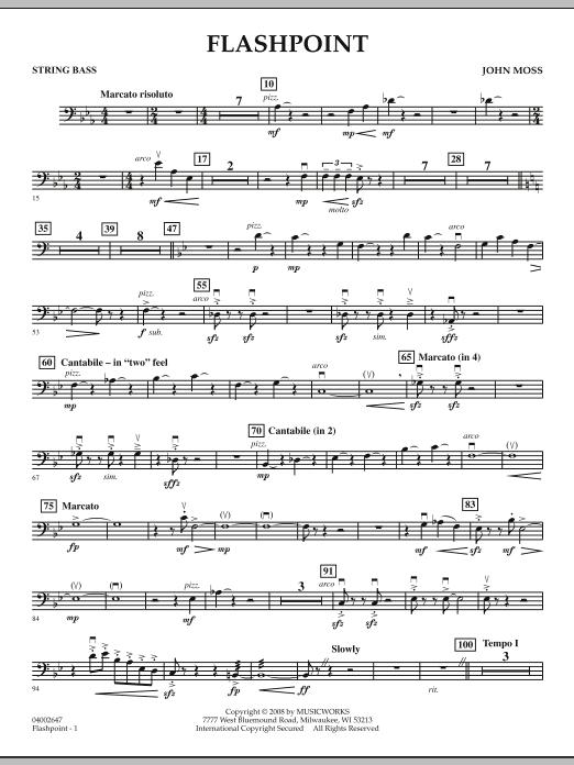 Flashpoint - String Bass (Concert Band)