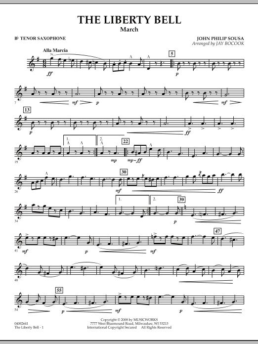 The Liberty Bell - Bb Tenor Saxophone (Concert Band)