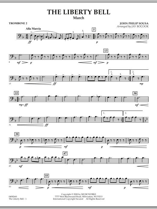 The Liberty Bell - Trombone 2 (Concert Band)