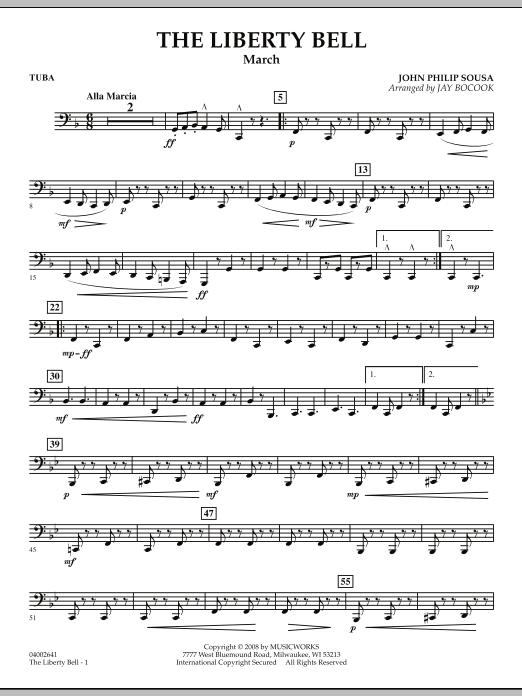 The Liberty Bell - Tuba (Concert Band)