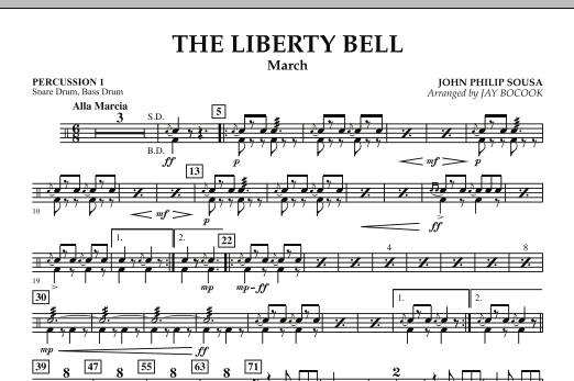 The Liberty Bell - Percussion 1 (Concert Band)