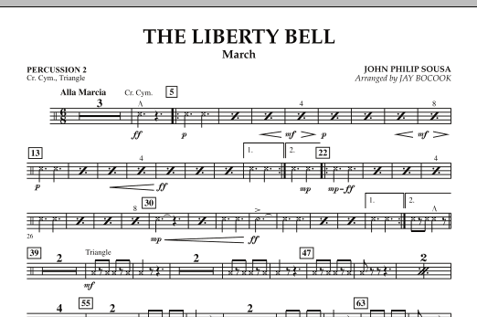 The Liberty Bell - Percussion 2 (Concert Band)