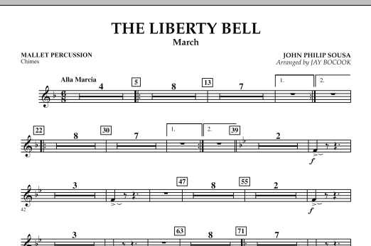 The Liberty Bell - Mallet Percussion (Concert Band)