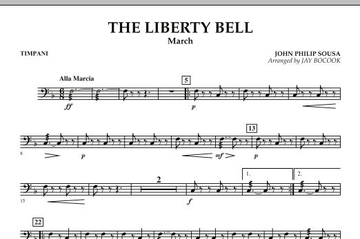 The Liberty Bell - Timpani (Concert Band)