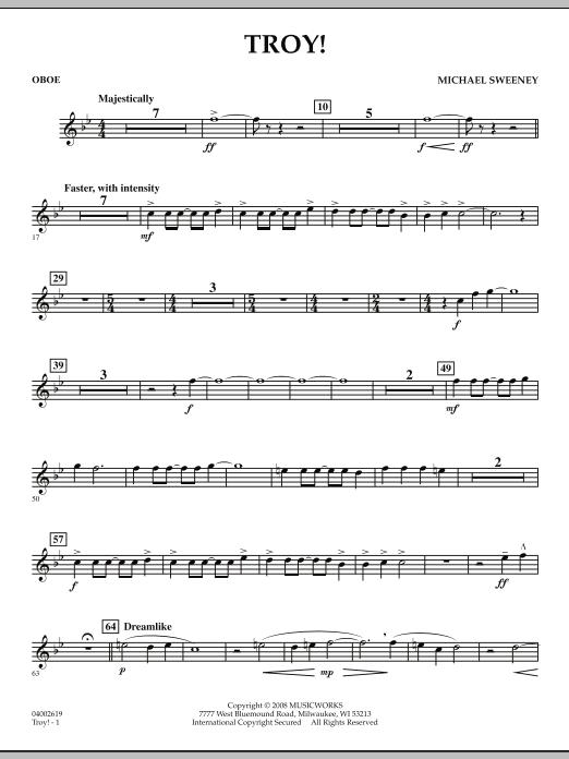 Troy! - Oboe (Concert Band)