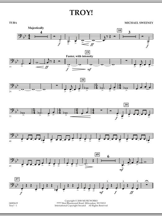 Troy! - Tuba (Concert Band)