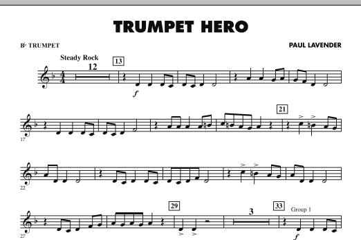Trumpet Hero - Bb Trumpet (Concert Band)