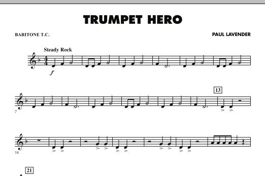 Trumpet Hero - Baritone T.C. (Concert Band)