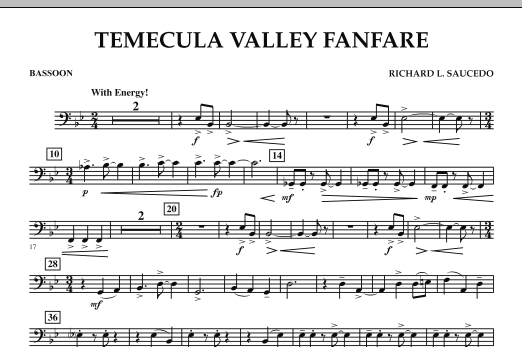 Temecula Valley Fanfare - Bassoon (Concert Band)