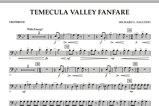 Temecula Valley Fanfare - Trombone (Concert Band)