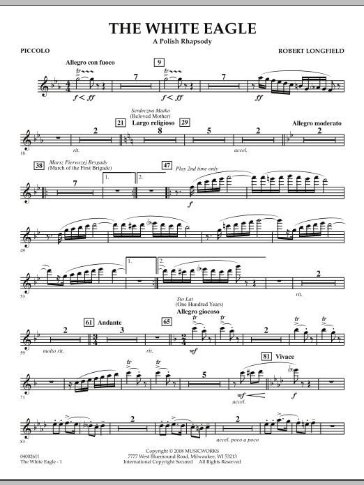 The White Eagle (A Polish Rhapsody) - Piccolo (Concert Band)