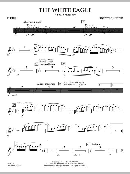 The White Eagle (A Polish Rhapsody) - Flute 2 (Concert Band)