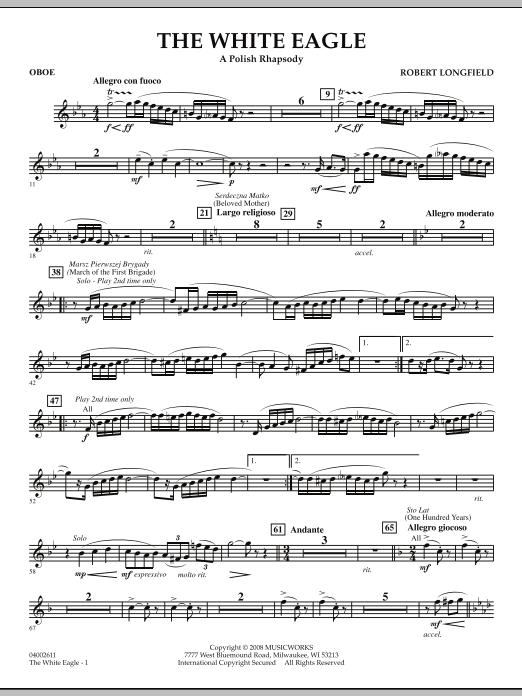 The White Eagle (A Polish Rhapsody) - Oboe (Concert Band)