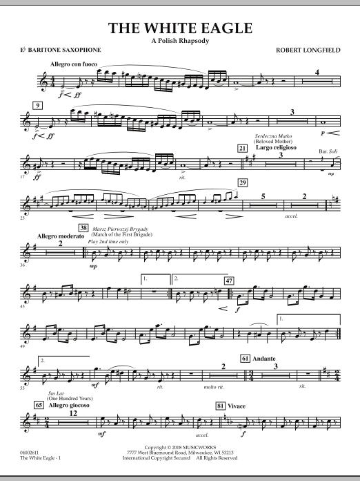 The White Eagle (A Polish Rhapsody) - Eb Baritone Saxophone (Concert Band)