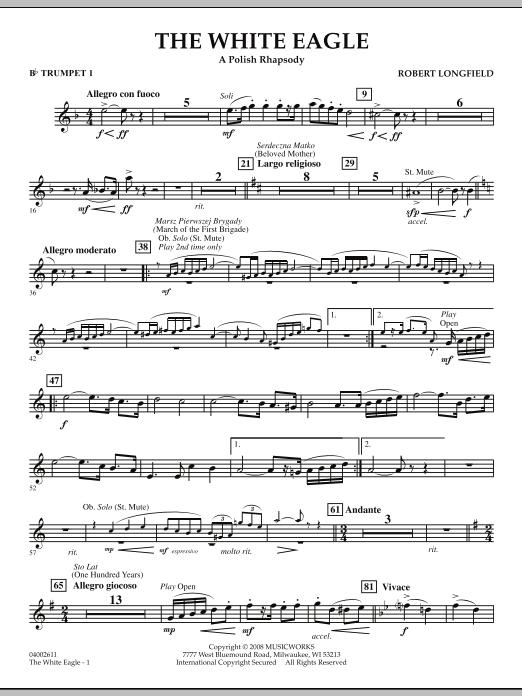 The White Eagle (A Polish Rhapsody) - Bb Trumpet 1 (Concert Band)