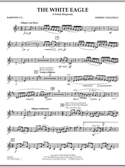 The White Eagle (A Polish Rhapsody) - Baritone T.C. (Concert Band)