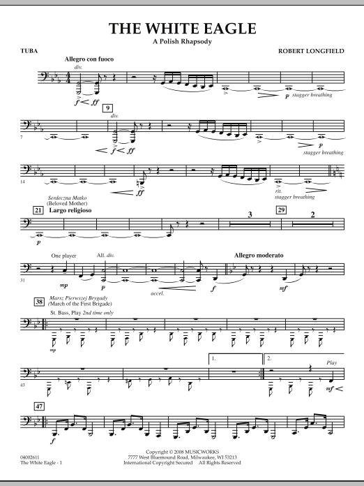 The White Eagle (A Polish Rhapsody) - Tuba (Concert Band)