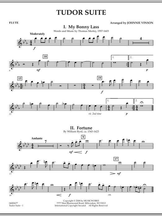 Tudor Suite - Flute (Concert Band)