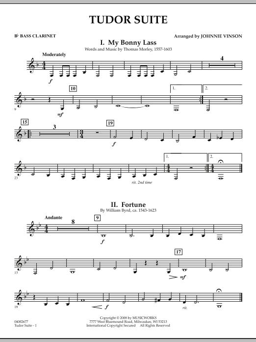 Tudor Suite - Bb Bass Clarinet (Concert Band)