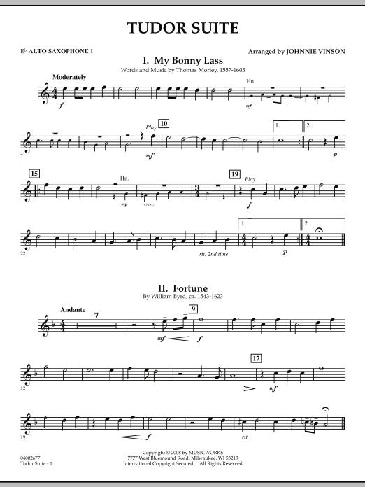 Tudor Suite - Eb Alto Saxophone 1 (Concert Band)