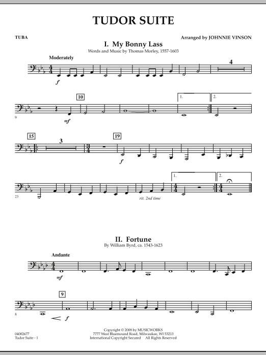Tudor Suite - Tuba (Concert Band)