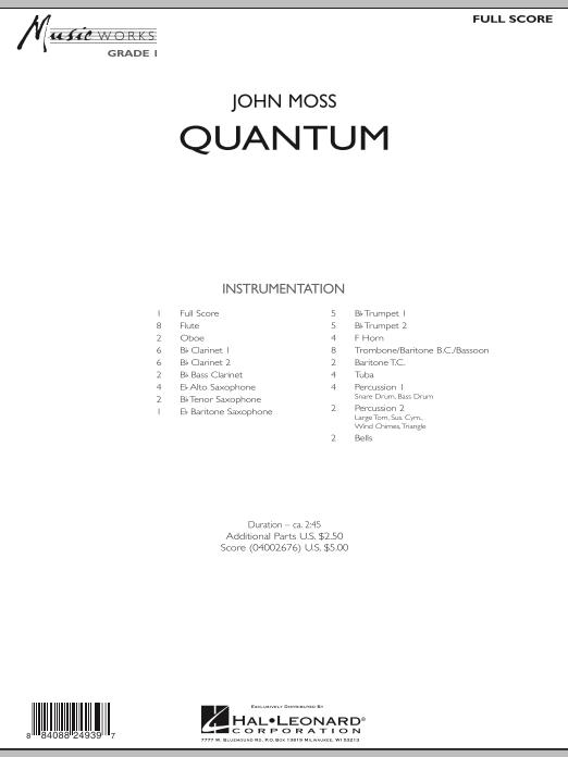 Quantum - Full Score (Concert Band)