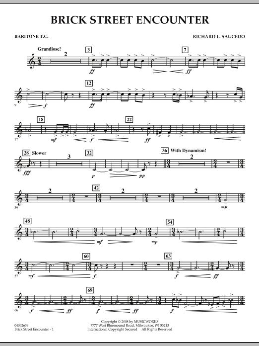 Brick Street Encounter - Baritone T.C. (Concert Band)