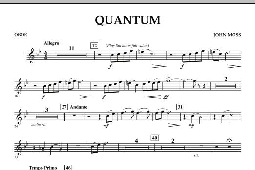 Quantum - Oboe (Concert Band)