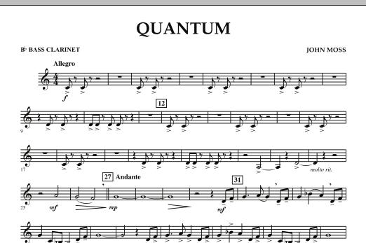 Quantum - Bb Bass Clarinet (Concert Band)