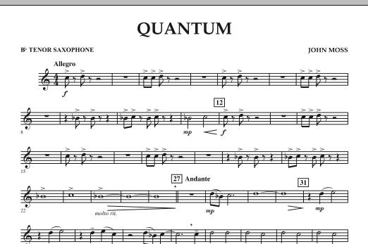 Quantum - Bb Tenor Saxophone (Concert Band)