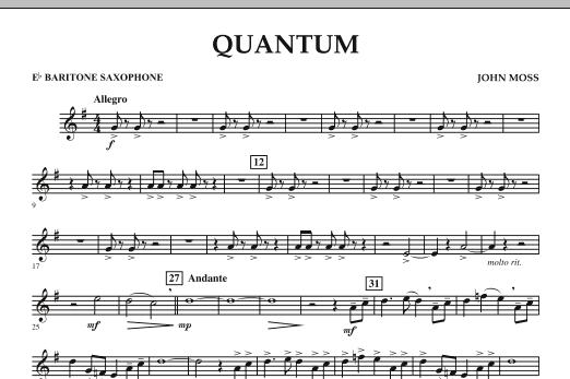 Quantum - Eb Baritone Saxophone (Concert Band)