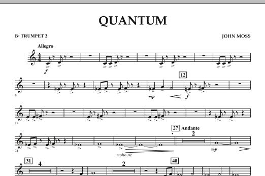 Quantum - Bb Trumpet 2 (Concert Band)